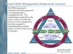 p roject risk management framework source