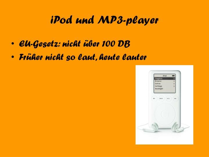 iPod und MP3-player