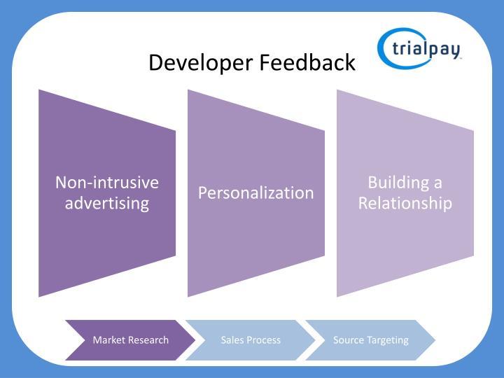 Developer Feedback