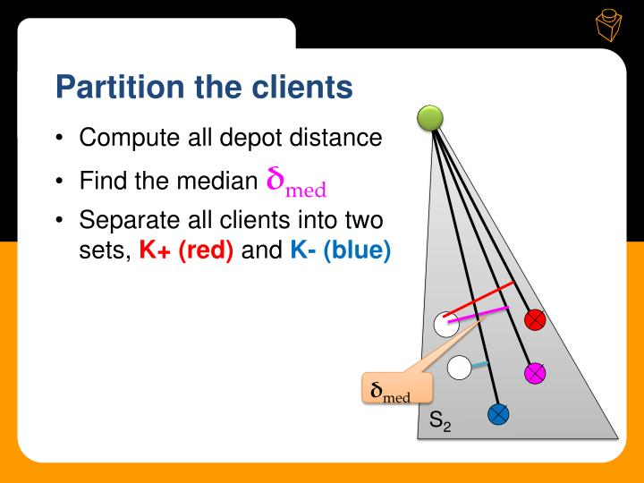 Partition the clients
