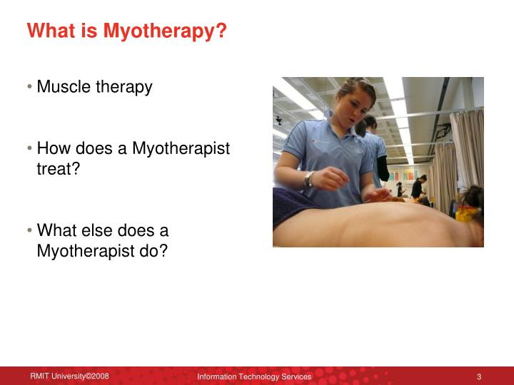 What is myotherapy