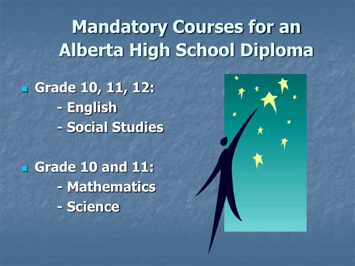 how to get high school diploma alberta