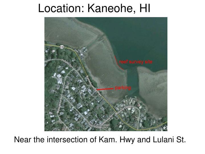 Location: Kaneohe, HI