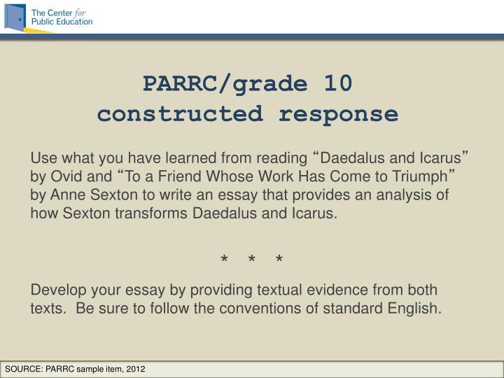PARRC/grade 10