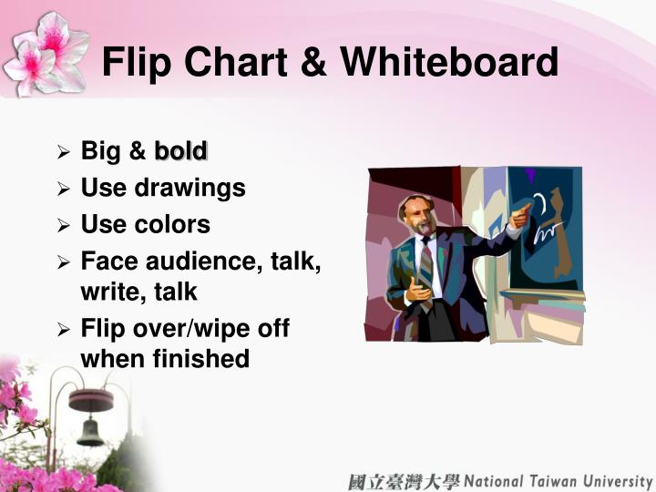 Flip Chart & Whiteboard