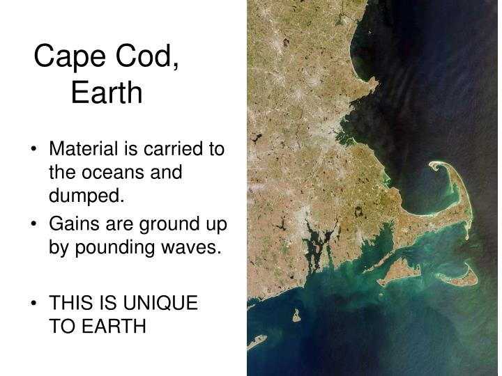 Cape Cod, Earth