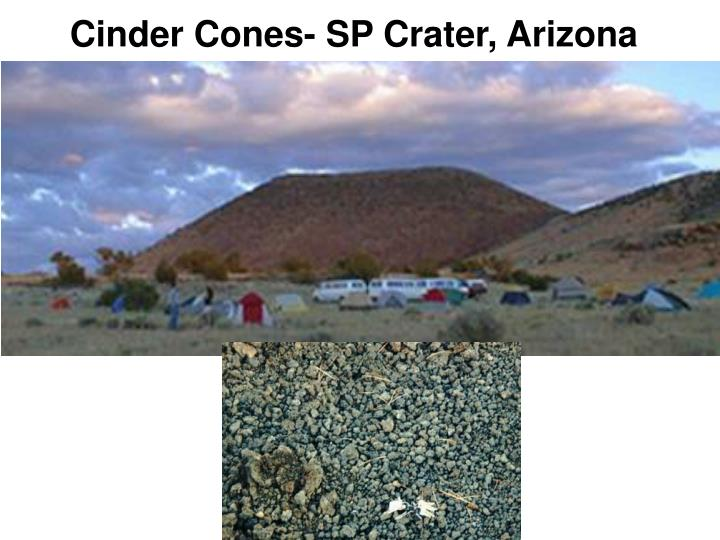 Cinder Cones- SP Crater, Arizona