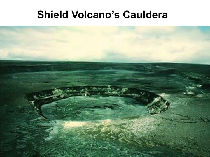 Shield Volcano's Cauldera