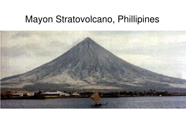 Mayon Stratovolcano, Phillipines