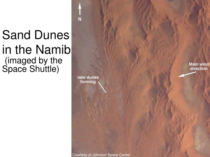Sand Dunes in the Namib
