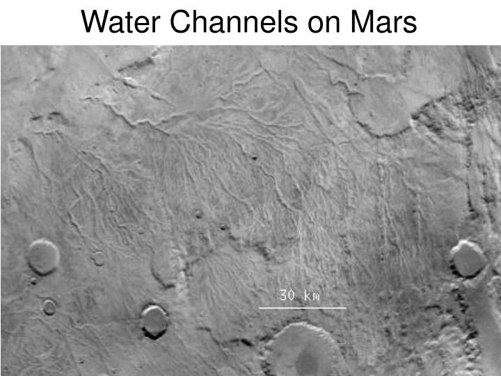 Water Channels on Mars
