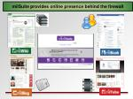 milsuite provides online presence behind the firewall