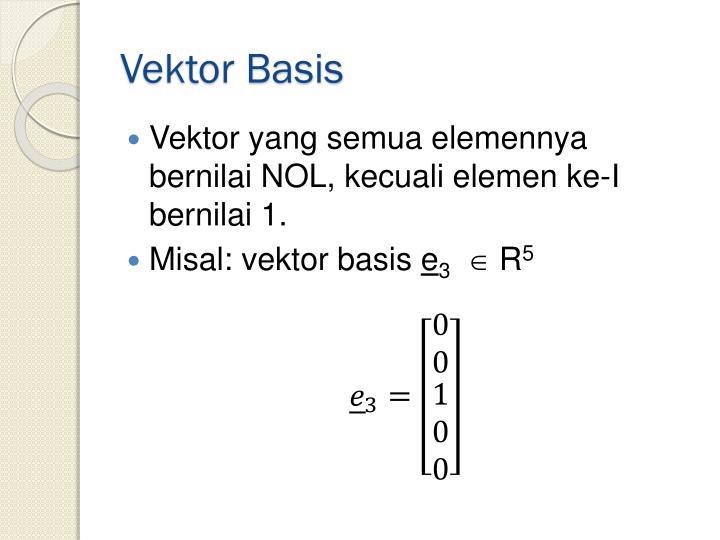 Vektor Basis