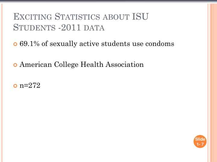 Exciting Statistics about ISU