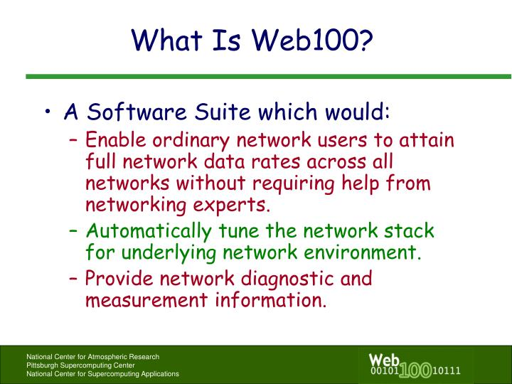 What is web100