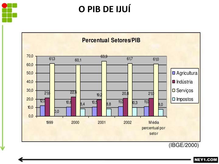 O PIB DE IJUÍ