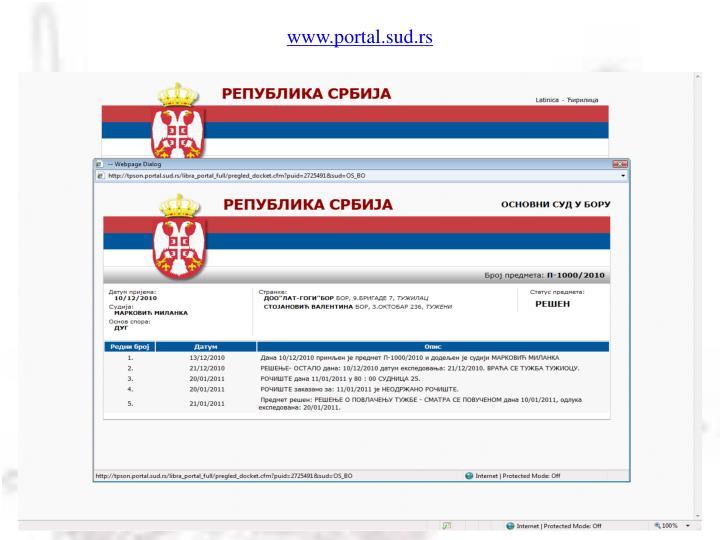 www.portal.sud.rs