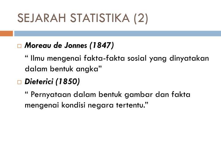 SEJARAH STATISTIKA (2)