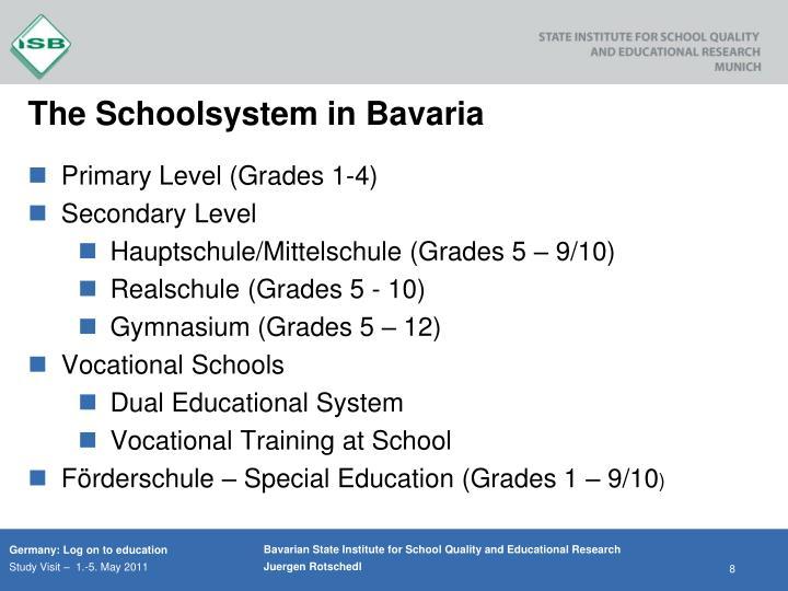 The Schoolsystem