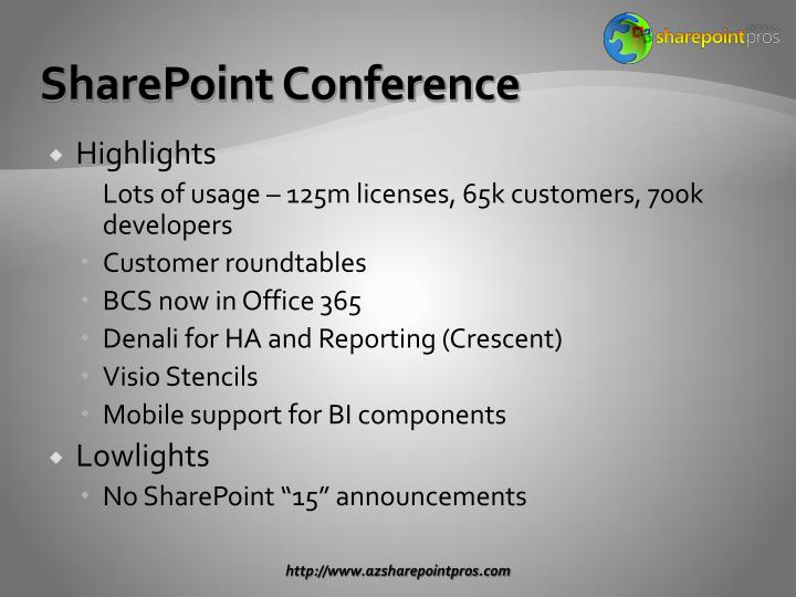 SharePoint Conference
