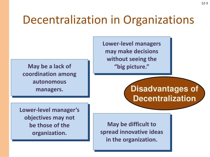 Decentralization in organizations1