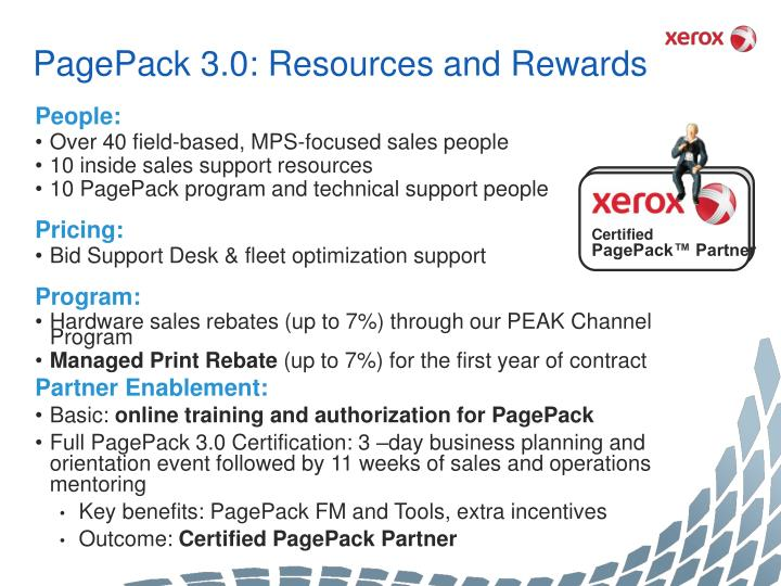 PagePack 3.0: Resources and Rewards