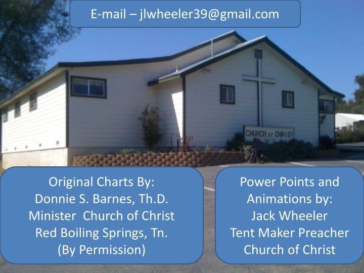 E-mail – jlwheeler39@gmail.com