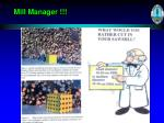 mill manager