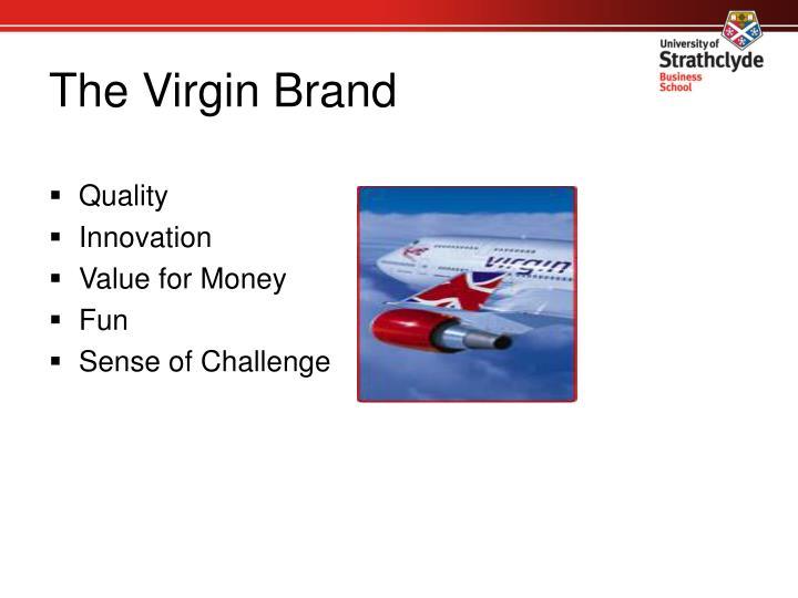 The Virgin Brand