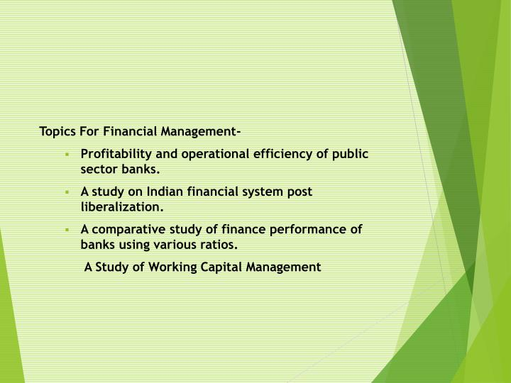 a comparative study of finance performance of banks using various ratios Npls to equity ratio [7] velnampy and anojan (2014) compare the financial performance of the state and private sector banks during war and post war scenarios of sri lanka a comparative study is done for a period of six years ie, 2007 – 2012 using different ratios, descriptive and independent sample t – test analysis.