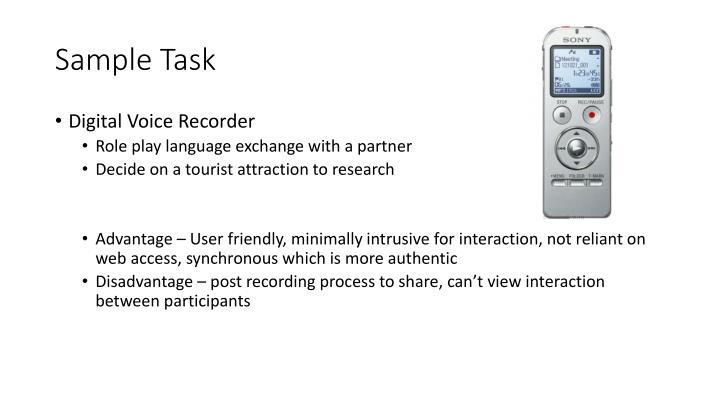 Sample Task