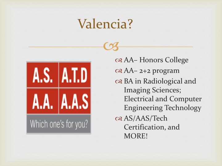 Valencia?