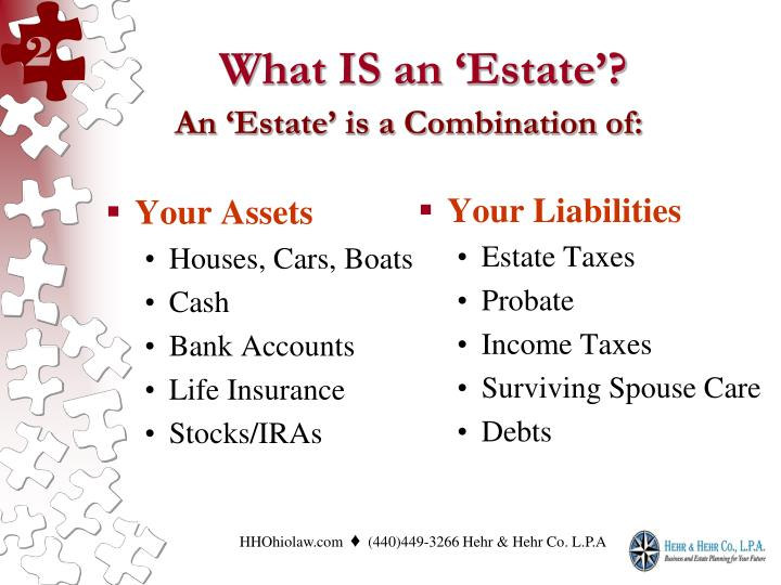 What is an estate