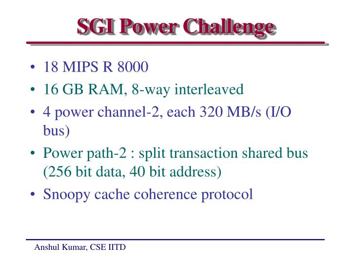 SGI Power Challenge