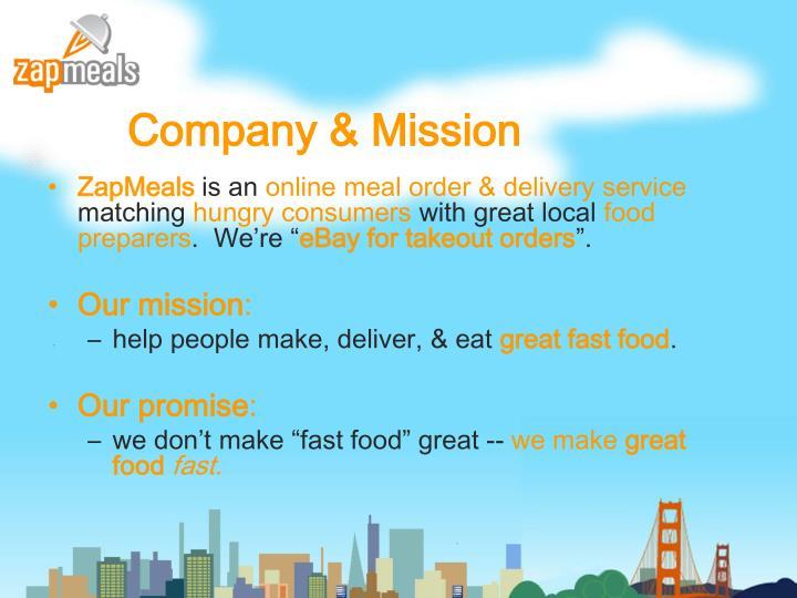 Company & Mission