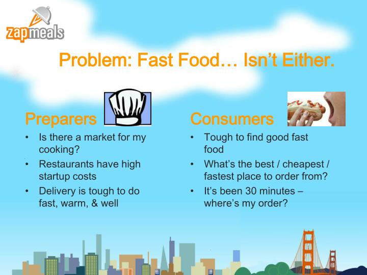 Problem fast food isn t either