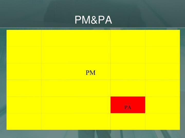 PM&PA