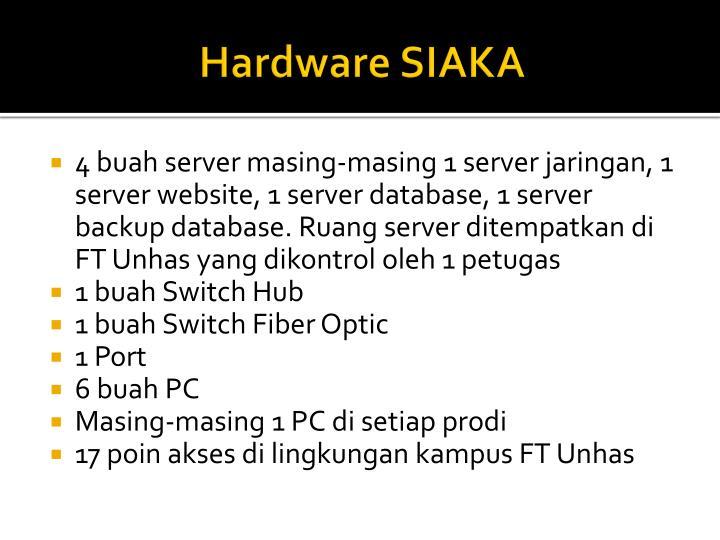 Hardware SIAKA