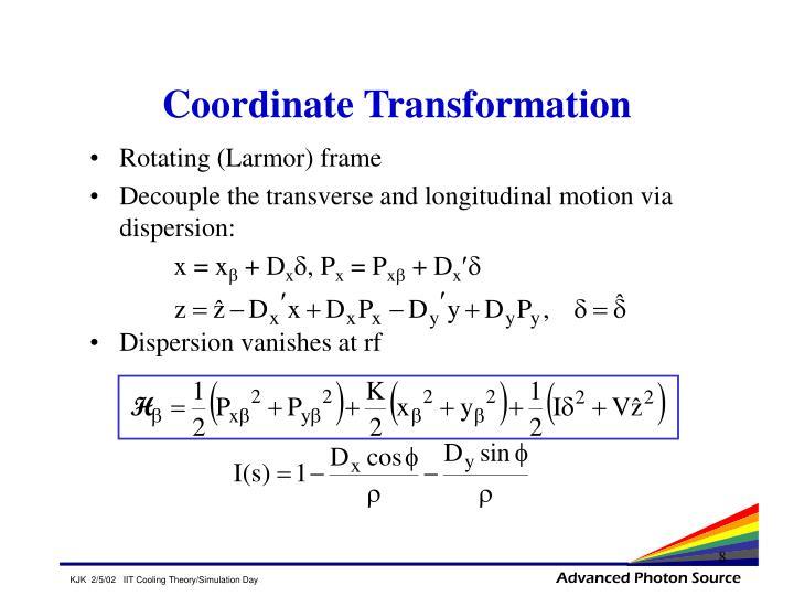 Coordinate Transformation
