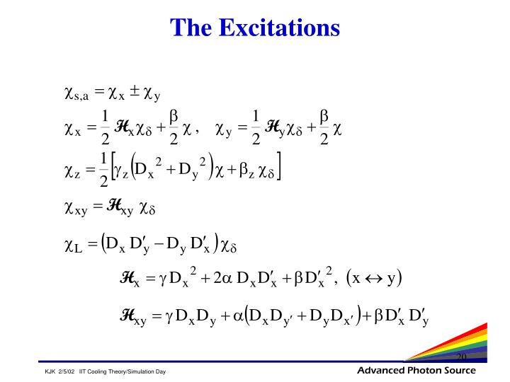 The Excitations
