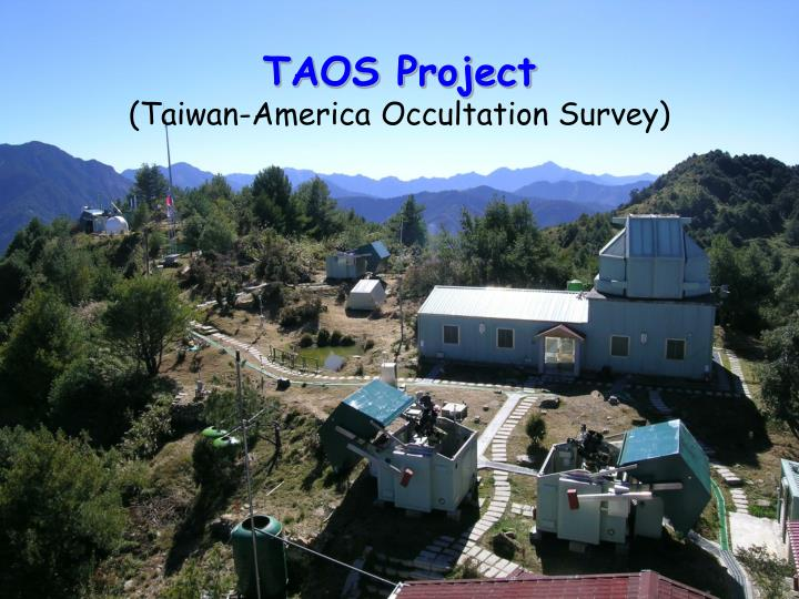 TAOS Project