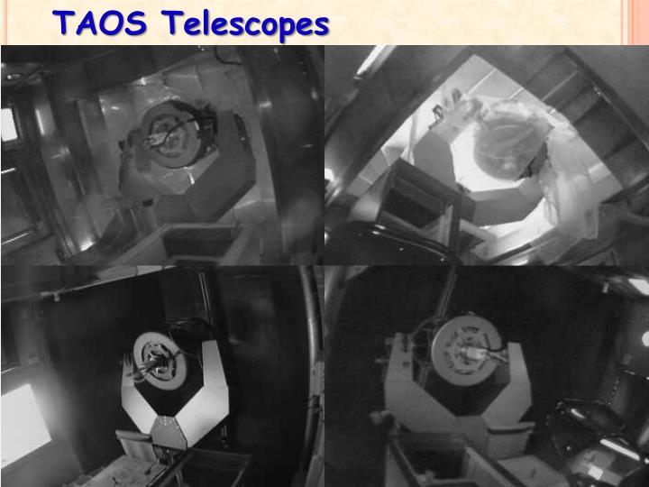 TAOS Telescopes