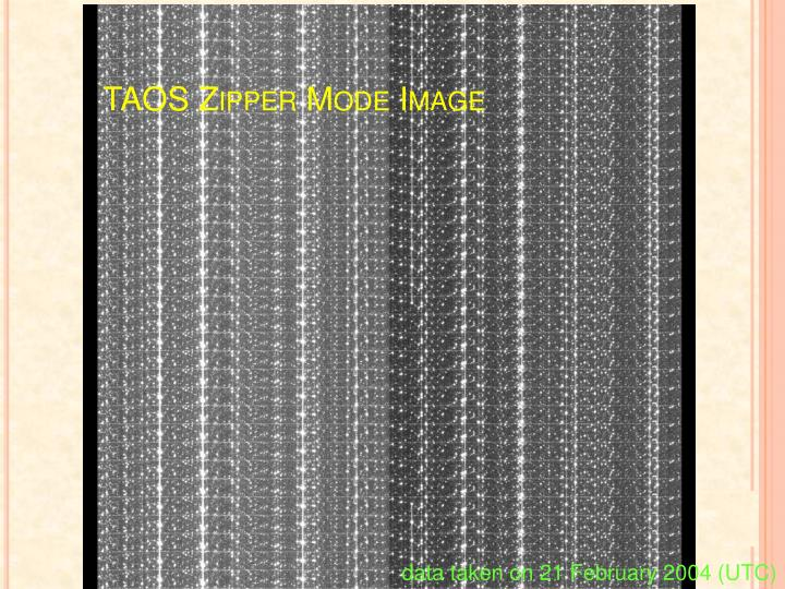 TAOS Zipper Mode Image