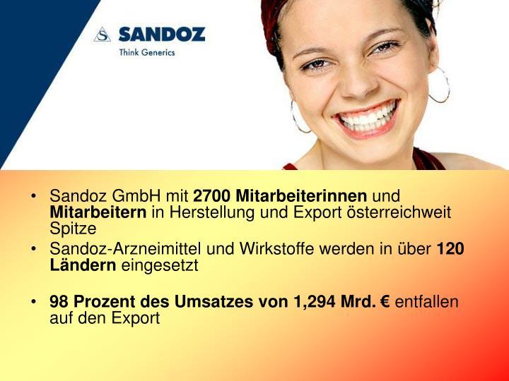 Sandoz GmbH mit