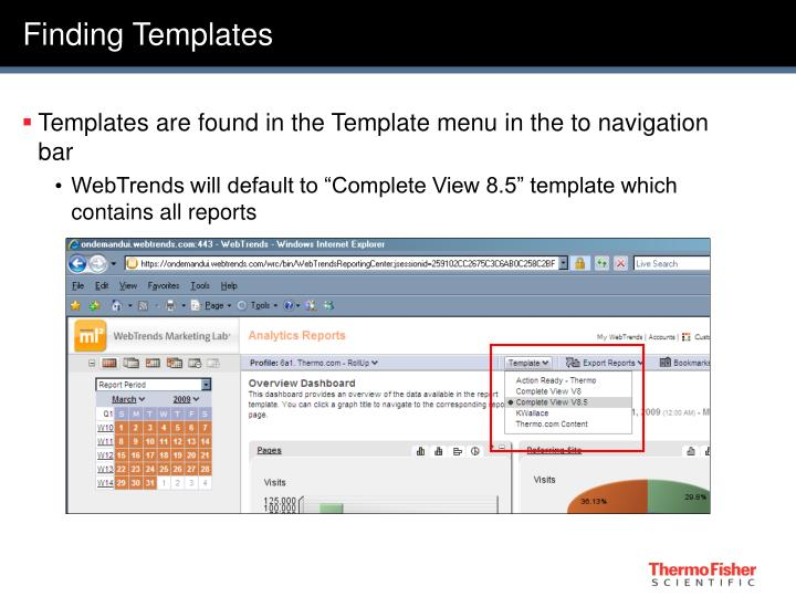 Finding Templates