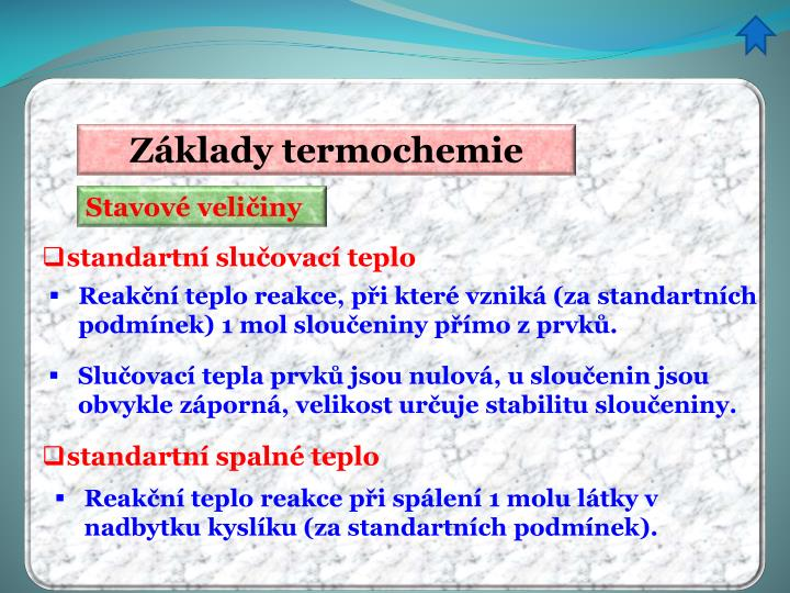 Základy termochemie