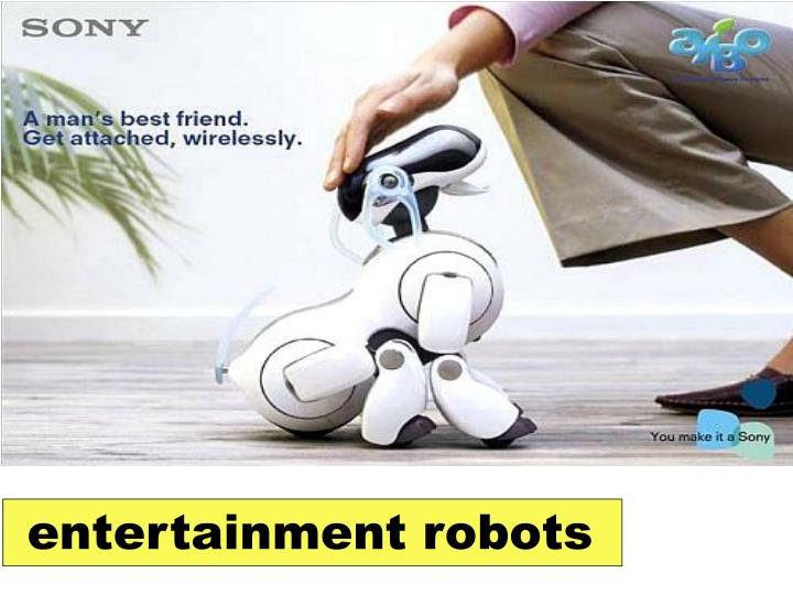 entertainment robots