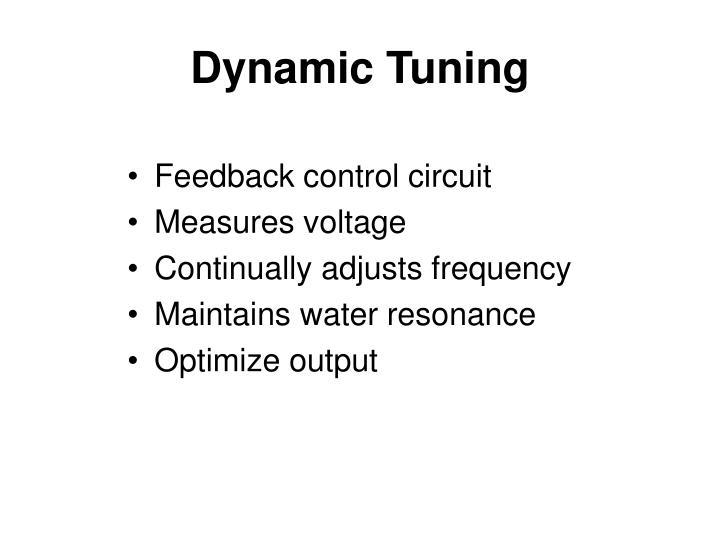 Dynamic Tuning