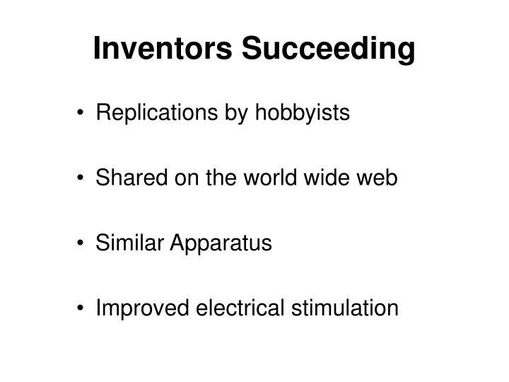 Inventors Succeeding