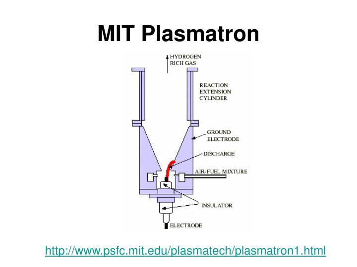MIT Plasmatron